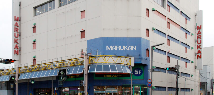 マルカン百貨店外観