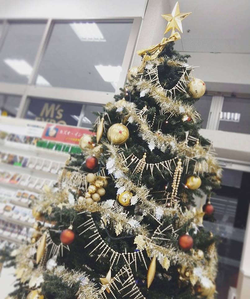 エクスポクリスマスツリー